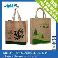 jute bag / italian matching shoes and bags hot sale on line shopping jute bag