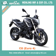 Motorcycle with good engine super store starter motor EEC Euro4 Racing Motorcycle C8 125cc EFI system (Euro 4)