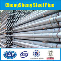 A106 GR.B schedule 40 thick wall seamless carbon steel pipes hot selling