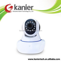 2015 Promotion KA0041 Indoor icloud wireless ip camera ptz PIR sensor 1MP with embedded speaker and mic