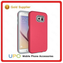 [UPO] New Arrival Anti-slip Shockproof Hybrid Combo Back Cover Case for Samsung Galaxy S6