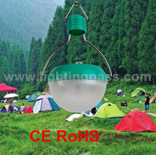 IP65 new rechargeable 7 led solar camping tent lighting