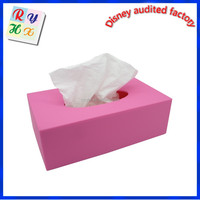 Factory price tissue paper box, decorative tissue box, car tissue box holder