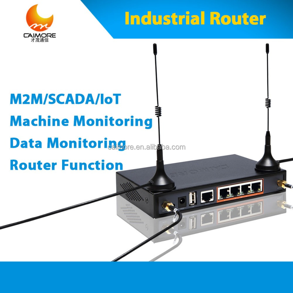 4G router for Power Carrier Line (PLC) for M2M Solutionn in CCTV Surveillance