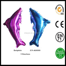 Inflatable Animal 11Inchs Dolphins Helium Foil Balloon,Party Balloon Dolphins Foil Balloon
