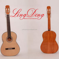 New style hot selling entry model plywood classical guitar
