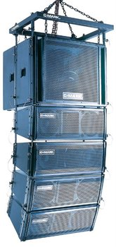"Compact Active Line Array Speaker (2 x 8"") powered by digital amplifier - C-Mark CT2844A"