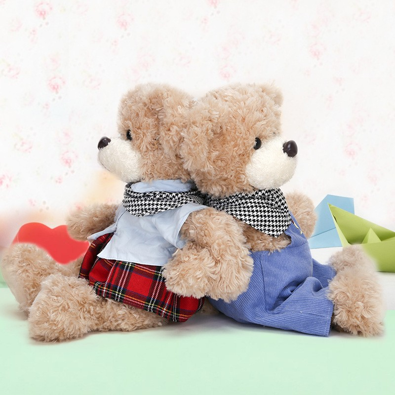 2017 alibaba Custom Stuffed lovely Kids Plush Teddy Bear