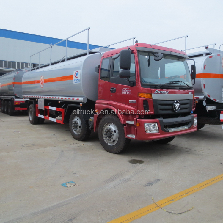 Popular latest three wheels diesel fuel truck for sale
