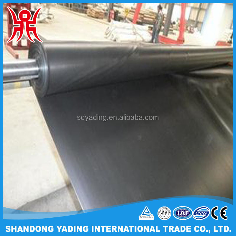1.5mm hdpe geomembrane cheap price / hdpe geomembrane liner / waterproof materials