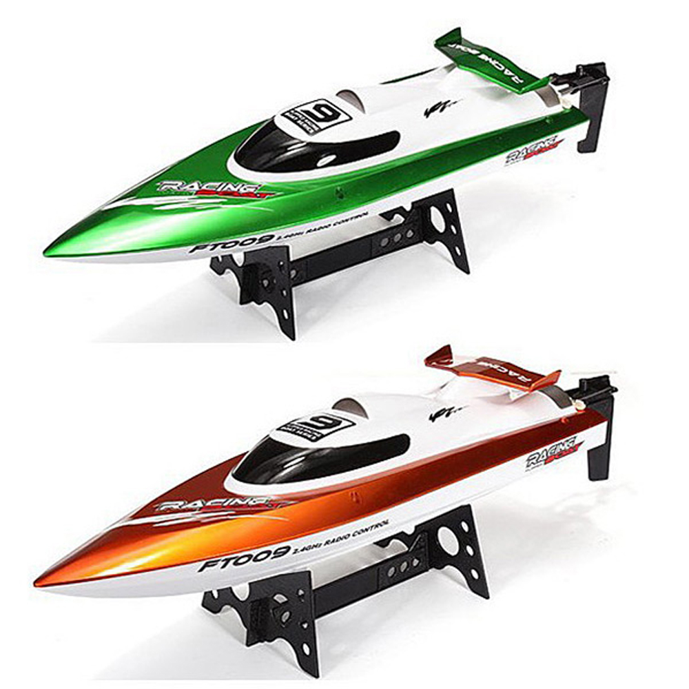 FeiLun FT009 2.4G RC Racing Boat High Speed Yacht Anti-Crash <strong>Remote</strong> <strong>Control</strong> Speedboat Self-Righting Novice Level RC Jet Boat