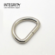 Factory selling stainless steel accessory 2 inch metal d ring
