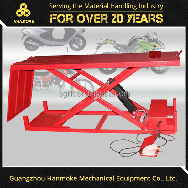 Powered ATV Lifter Manual Air Hydraulic Motorcycle Lift
