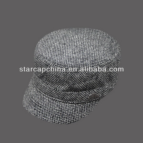 FASHION BLANK WOMEN MILITARY CAPS HATS