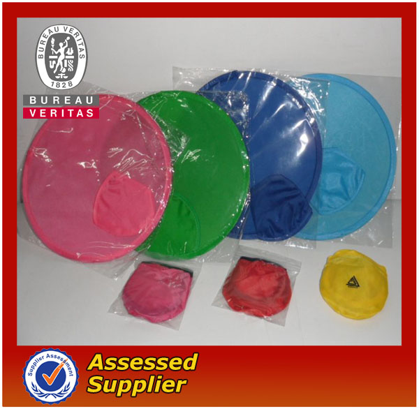 Customized Nylon Foldable Frisbee Fan
