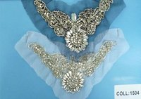 2012 women rhinestone collar