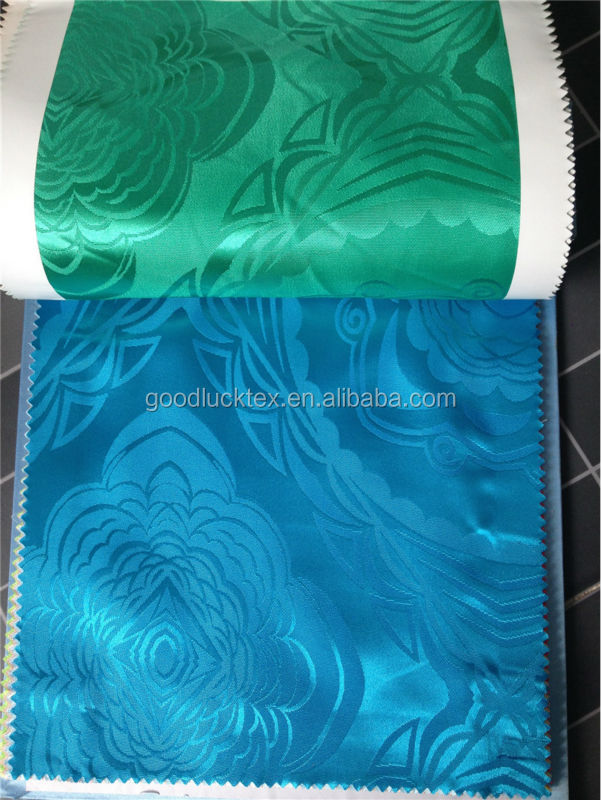 twist satin jacquards textiles for dress