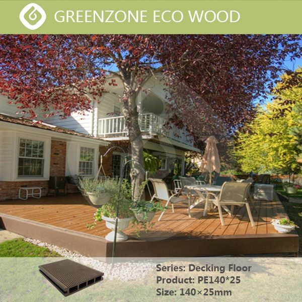 wood plastic composite board / wpc decking / wpc flooring