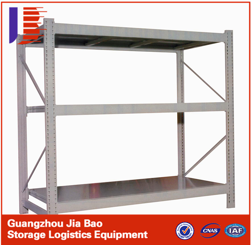 Industrial Metal Storage Light Duty Racking System Long Span Shelving with Warehouse Storage Racks