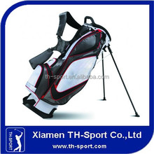 Manufacturer zip-off pocket golf stand bag with embroidered logos