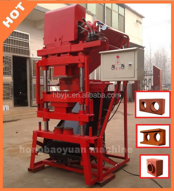 paver cement concret brick moulding machines for turkey+++small block forming machines