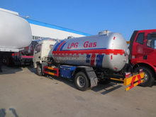 Good quality useful left hand drive lpg road tanker truck