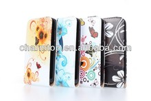 Fashionable and top quality leather case for Huawei Y300