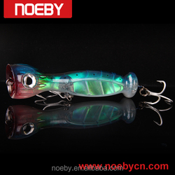 3D eyes lifelike tuna fishing lure gt baits sea topwater popper