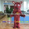 2015 Factory direct sale wholesale party mascot costume brown dog kids mascot costume