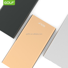 Alibaba Ultra Slim metal case 5000mAh Power Bank for mobile phone from china manufacturer