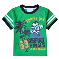Custom design high quality cotton printed european boy shirts