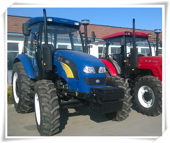Big horse power 150hp 4wd four wheel drive 8 cylinders agricultural farm tractor