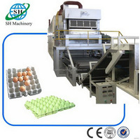 Low price Crazy Selling paper quail egg tray forming machine
