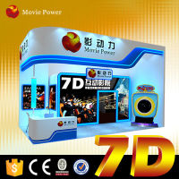 Special experience gain from 7d cinema box with arractive poster