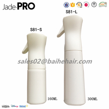Best Selling Fine Mist Designer Plastic 160ml Spray Bottle, Salon Continuous Water Sprayer