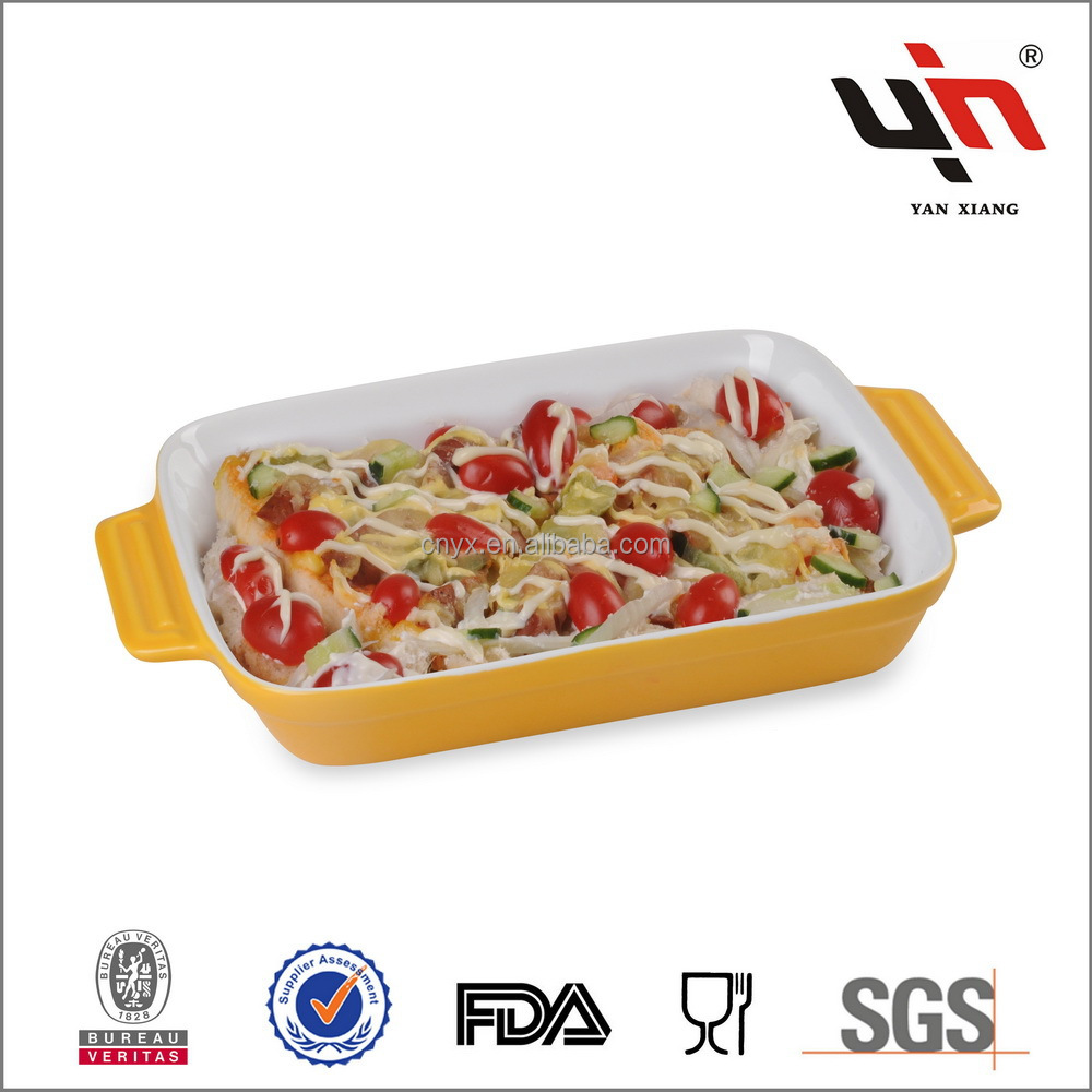 Glazed Ceramic Bakeware