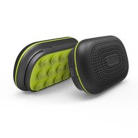 3000mAh power bank Wireless suction cup bluetooth speaker