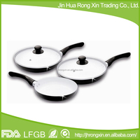 2 layers ceramic coated non-stick fry pan as seen on tv