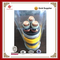 NO.3550- Steel wire Armoued Copper 50mm2 70mm2 95mm2 120mm2 33kV cable xlpe price