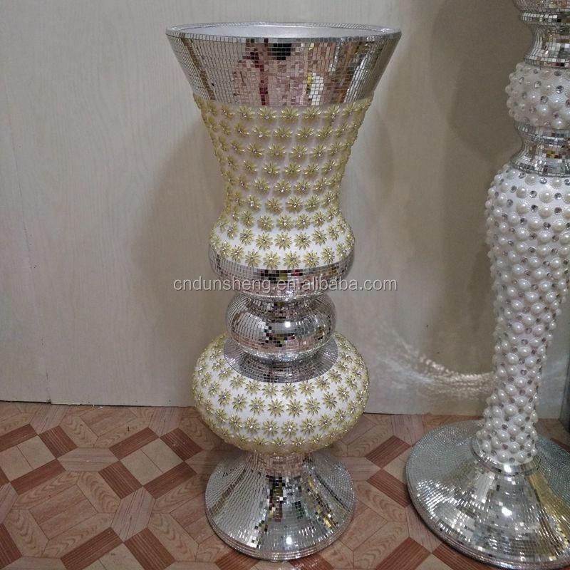 List Manufacturers of Silver Mirror Floor Vase, Buy Silver Mirror ...