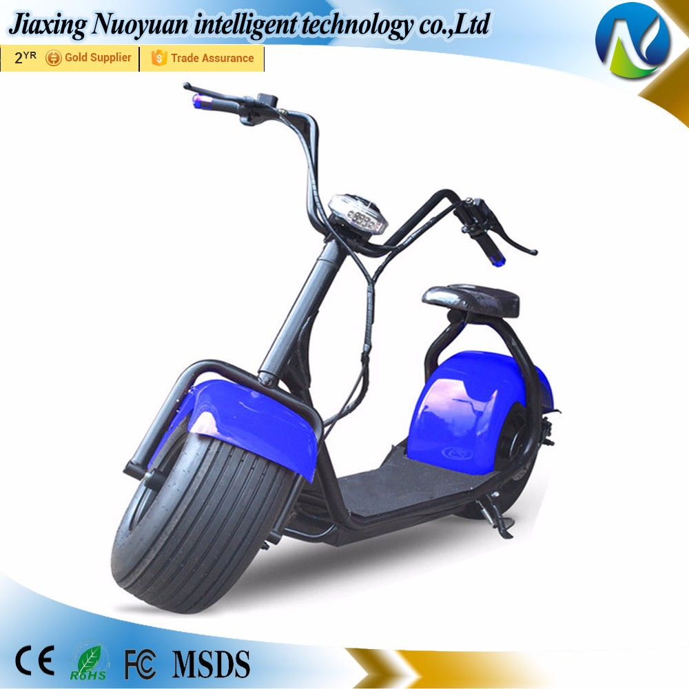 New Model 1000W Motor Fat Tire Mobility Big Harley Electric scooter