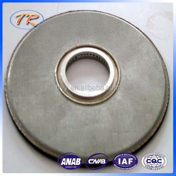Sintered plate filter with good quality and best price