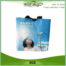 Factory price used pp non woven bag / woven lamination bag / eco shopping bag