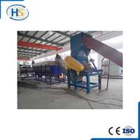 Waste Plastic Recycling Washing Machinery And Granulator price