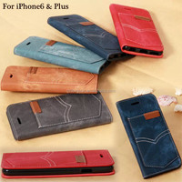 New Arrivral ultra slim jean design phone case,ultra slim case for iphone 6 plus