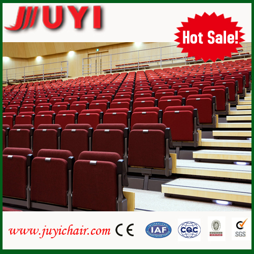 Theater seating portable indoor bleachers telescopic seating systemJY-768