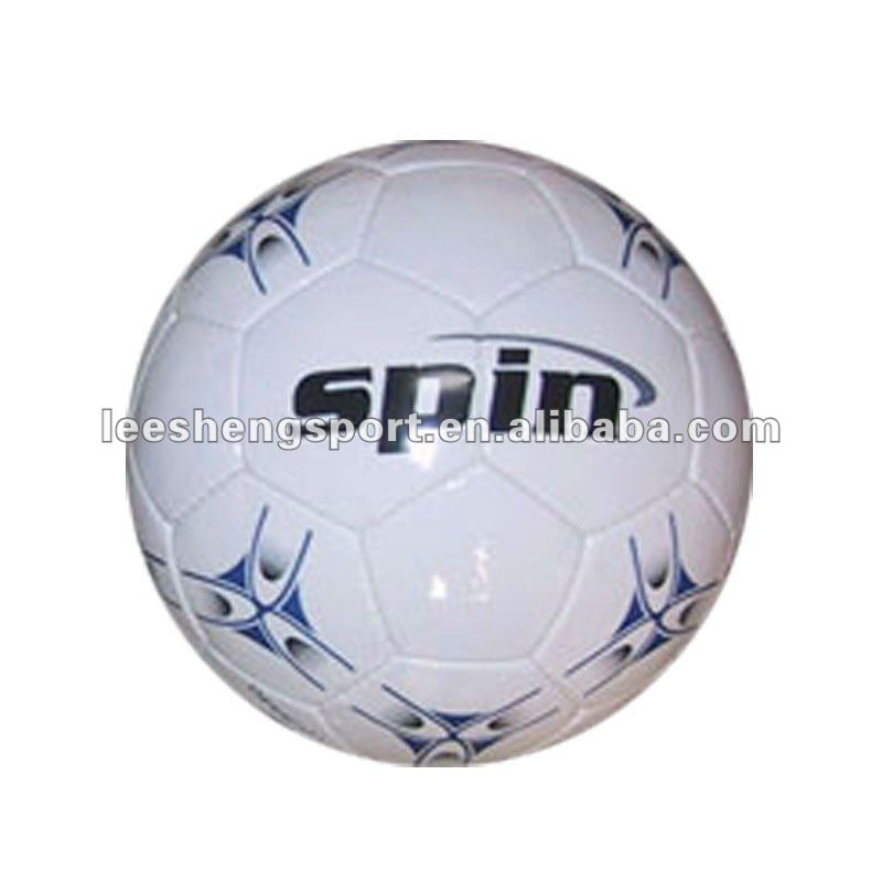 Hand sewn PVC football soccer ball