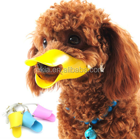 cute Nylon &Newest Pet product Silicone dog muzzle,dog mask,latex dog mask