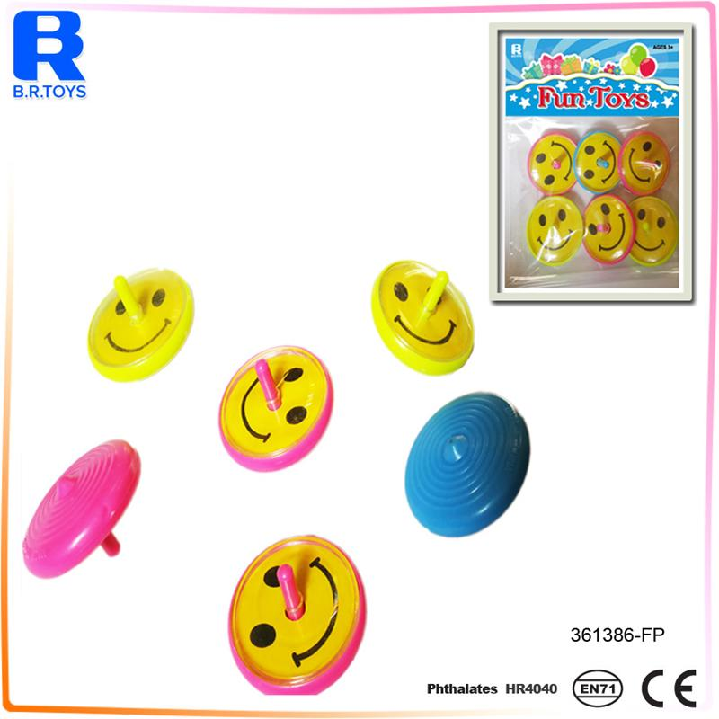 New funny child plastic spinning top toy eddy toys for sale