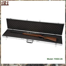 Aluminum Gun Guard Double Scoped Rifle Case/ Professional Military Aluminum Gun box